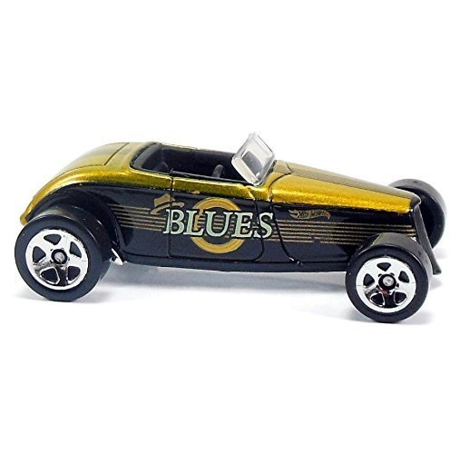 Hot Wheels Jukebox 1:64 Scale Die-cast Die-cast Die-cast Vehicle ('33 Ford Lo Boy (Delta Blaus)) by Hot Wheels f85768