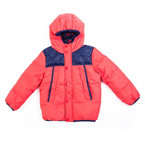 IKALI Down Jacket Baby Kids Boy's Windproof Coat Winter Hoodie Puffer Outwear