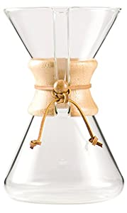 Chemex Hand Blown Glass Coffee Maker : Great Present for the Coffee Couple