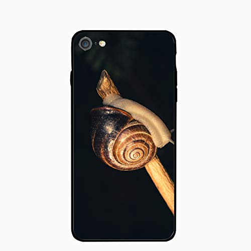 Snail Shell Shellfish Personalized Case Compatible for iPhone6, Shock Absorbing Protective Bumper Case, Birthday (Mercedes Iphone6 Case)