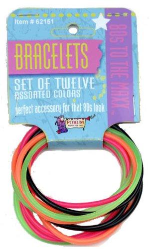 Price comparison product image 62151 Jelly Bracelets Set of 12