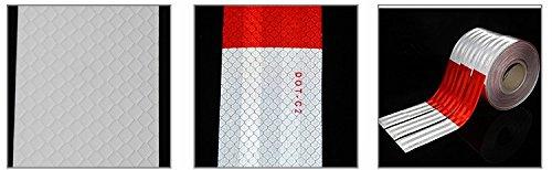 Safety Reflective Warning Lighting Sticker Adhesive Tape Roll Strip DOT-C2 AM