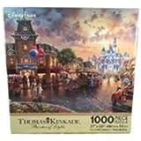 ディズニー(Disney) ディズニーランド ディズニーパークス トーマスキンケード パズル おもちゃ 玩具 ゲーム 60周年記念 ダイヤモンドセレブレーション [並行輸入品]