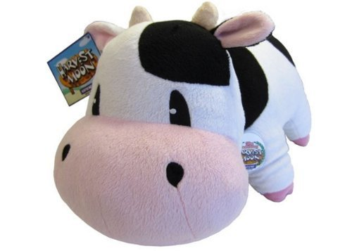 "12"" Premium Plush Cow Promo - Harvest Moon: A New Beginning 15th Anniversary Edition - 41Frr6TCsWL - 12″ Premium Plush Cow Promo – Harvest Moon: A New Beginning 15th Anniversary Edition"