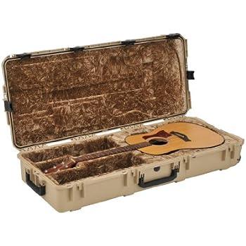 Guitar Cases With Wheels : skb injection molded acoustic guitar case tsa latches with wheels tan 3i 4217 18 t ~ Russianpoet.info Haus und Dekorationen