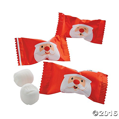 Santa Buttermints for Christmas Celebration Christmas Mint