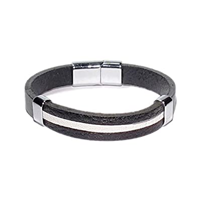 AUTHENTIC HANDMADE Leather Bracelet, Men Women Wristbands Braided Bangle Craft Multi [SKU002104]
