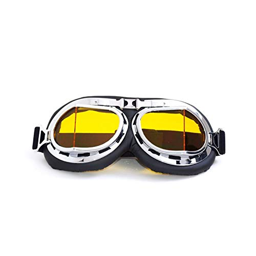 Epinki Unisexo TPU+PC Gafas de Motocicleta Control de la Arena Gafas de Sol Deportivas Gafas de Casco para Motocicleta...