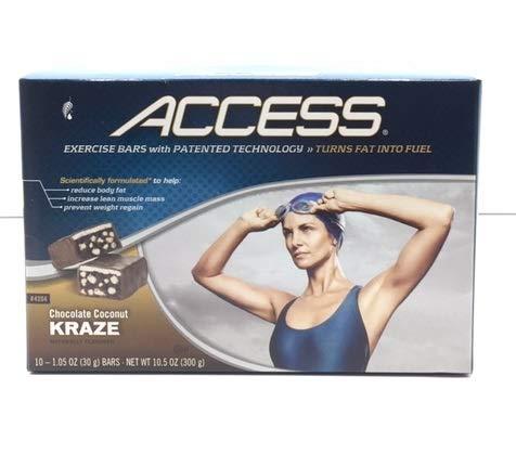 Amazon Com Melaleuca Access Exercise Bars Chocolate Caramel