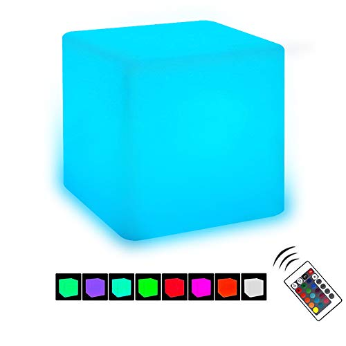 Aokely AK0043 LED RGB Cube Light Path Lights 4