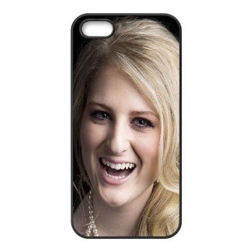 Megan Trainor Singer All About That Bass 97261 coque iPhone 5 5S cellulaire cas coque de téléphone cas téléphone cellulaire noir couvercle EOKXLLNCD25966