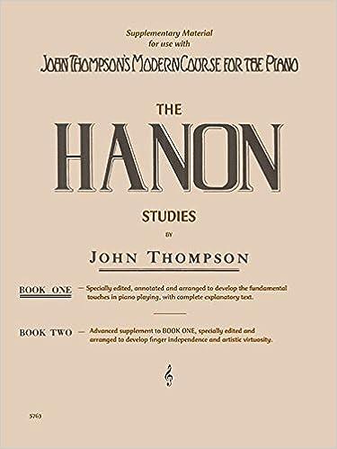 hanon studies book 1 elementary level
