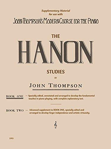 Hanon Studies - Book 1: Elementary Level