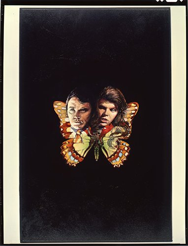 The Collector Terence Stamp - The Collector Terence Stamp Samantha Eggar Poster Art Butterfly Transparency