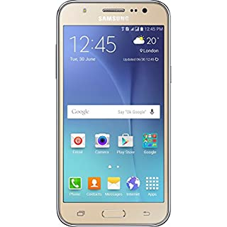 Samsung Galaxy J5 SSJ500MGD Factory Unlocked Dual Sim Smartphone - International Version (Gold)
