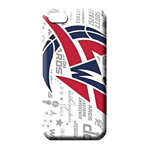 iphone 5 5s Shock Absorbing Plastic style cell phone covers washington wizards nba basketball