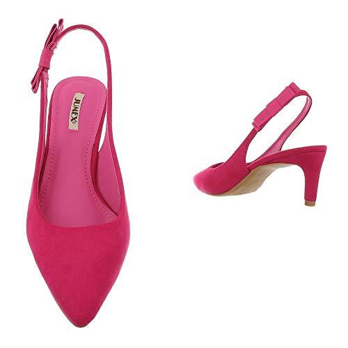 Pink design Tacco Col Gh11535 Donna Ital Scarpe qxX0Tawvq