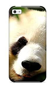 Andrew Cardin's Shop New Style First-class Case Cover For Iphone 5c Dual Protection Cover Panda Bears