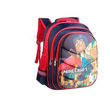 Mochila Infantil 2018 con diseño de Minecraft: Amazon.es: Hogar
