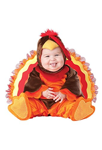 Toddler Milk Maid Costume (Lil' Gobbler Turkey Infant/Toddler Halloween Costume)
