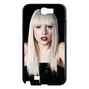D-PAFD Diy Phone Case Lady Gaga Pattern Hard Case For Samsung Galaxy Note 2 N7100