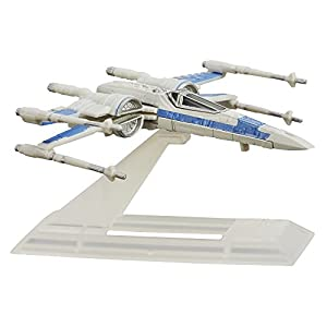 Star Wars Episode VII Black Series Titanium Resistance X-Wing
