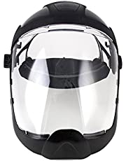Sellstrom S32210 Clear Anti-Fog Polycarbonate Faceshield with Extended Chin and Side Guard, Universal