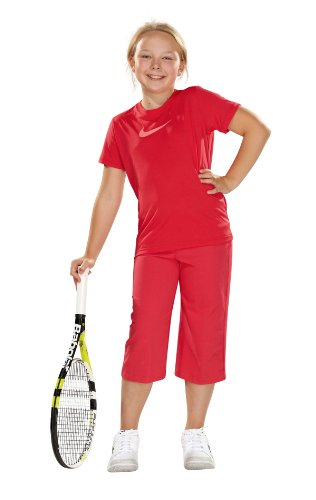 Nike Regular - Pantalones de tenis para niña rosa