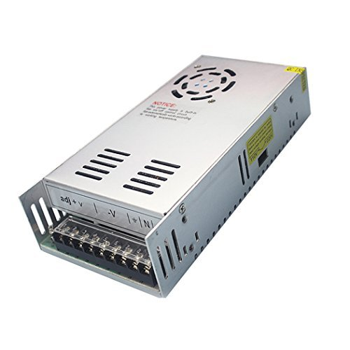 JoyNano 360W Switching Power Supply 12V 30A AC-DC Converter Transformer for 3D Printer, CCTV Surveillance LED Display Industrial Automation Stepper Motor and More [Upgraded Version]