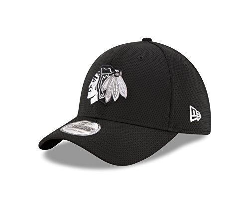 NHL Chicago Blackhawks Adult Tone Tech Redux OTC 39THIRTY Stretch Fit Cap 4354c5973d49