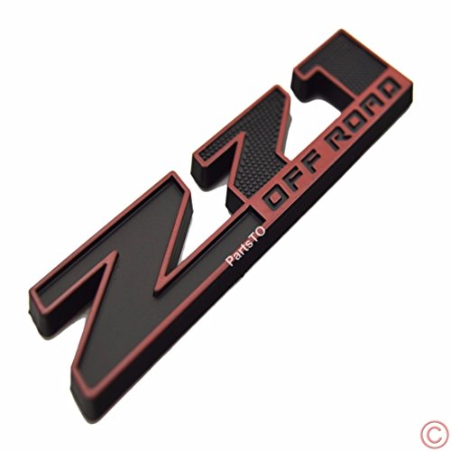 z71 off road emblems - 5