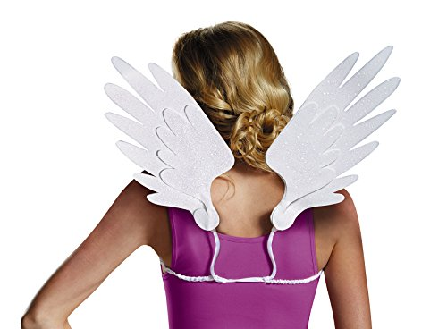 Disguise Women's Princess Celestia Adult Costume Wings, White, One Size