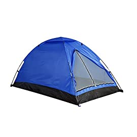 Camping Tent Outdoor Holiday Deals Travelite Backpacking Light-Weight Family Dome Tent - 2 Person, 2 Season Instant Portable Shelter Easy Set-Up By Alvantor