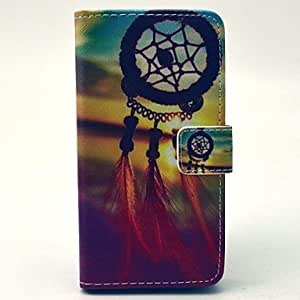 YULIN Beautiful Dream Catcher Pattern PU Leather Case with Money Holder Card Slot for Samsung Galaxy A3