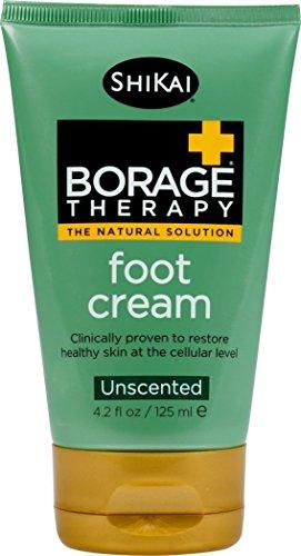 ShiKai Borage Dry Skin Therapy Foot Cream 4.2 6pk