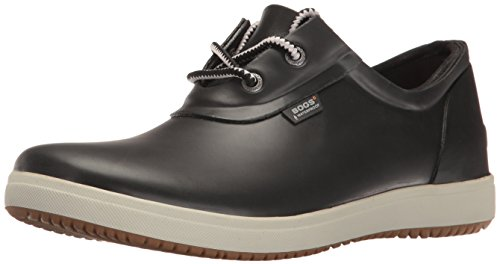 Bogs Women's Quinn Shoe Rain Boot, Black, 9 M US