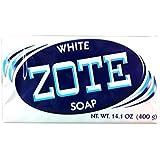 Jabon Zote Azul Para Lavar Ropa - Quita Manchas De La Ropa - Paquete De 4