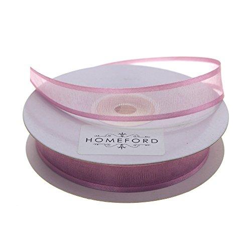 Homeford FCR000SES0508165 Satin-Edge Sheer Organza Ribbon, 5/8