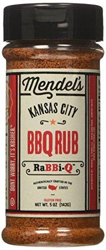Mendel's Kansas City BBQ Rub | Kosher Gluten Free BBQ Rub is a Great for BBQ Chicken, Beef or to Dry Rub Ribs (1)