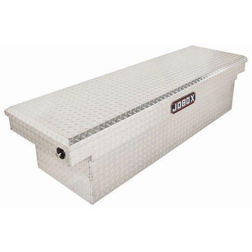Pro Boxes Delta Tool (Delta Pro PAC1589000 Mid Size Bright Aluminum Single Lid Crossover Truck Box)
