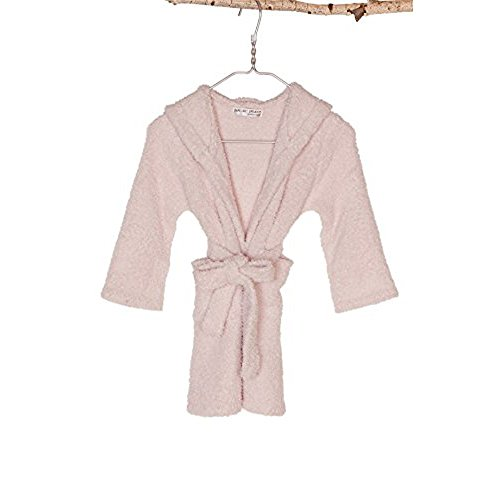 Barefoot Dreams CozyChic Toddler/Kids Cover-up Robe, Pink, 4T-5T