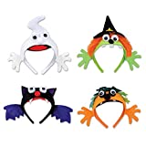 Club Pack of 12 Halloween Assorted Headbands Party Favors Costume Accessories