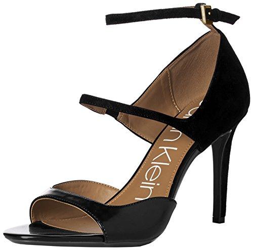 - 41Frz8xFwWL - Calvin Klein Women's Nadeen Heeled Sandal