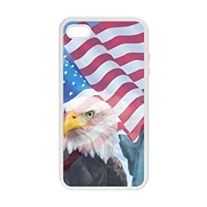 American Flag Beautiful Statue Case for iphonne 5 5s case cover by lolosakes