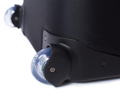 "41FrzZ%2B z8L - Fovitec - 1x Professional Photography & Video Lighting Equipment Roller Bag - [43"" x 13"" x 11""][EZ Glide Wheels][Durable Webbed Nylon][Fleece Lining]"