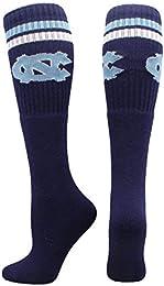 Sports University of North Carolina Tar Heels Throwback Tube Socks