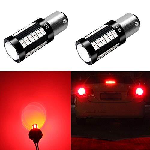 Alla Lighting 2800lm 7518 1157 LED Strobe Flashing Lights Bulbs Xtreme Super Bright BAY15D 1157 LED Bulbs High Power 5730 33-SMD LED 1157 Bulbs 7528 2057 2357 LED Turn Signal Brake Stop Tail Light ()
