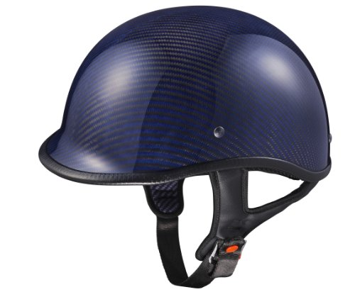 Low Profile Carbon Fiber Motorcycle Helmets - 7