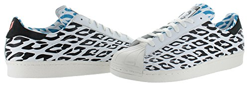 Superstar 80's WC Mens in White/White Vapor/Black by Adidas, 11.5