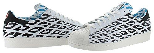 Superster 80s Wc Mens In Wit / Wit Damp / Zwart Van Adidas, 10